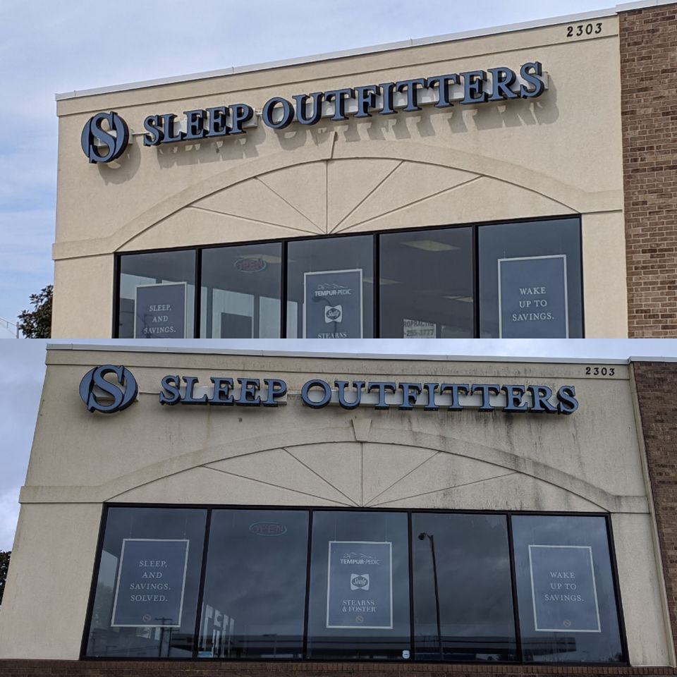 sleep outfitters building