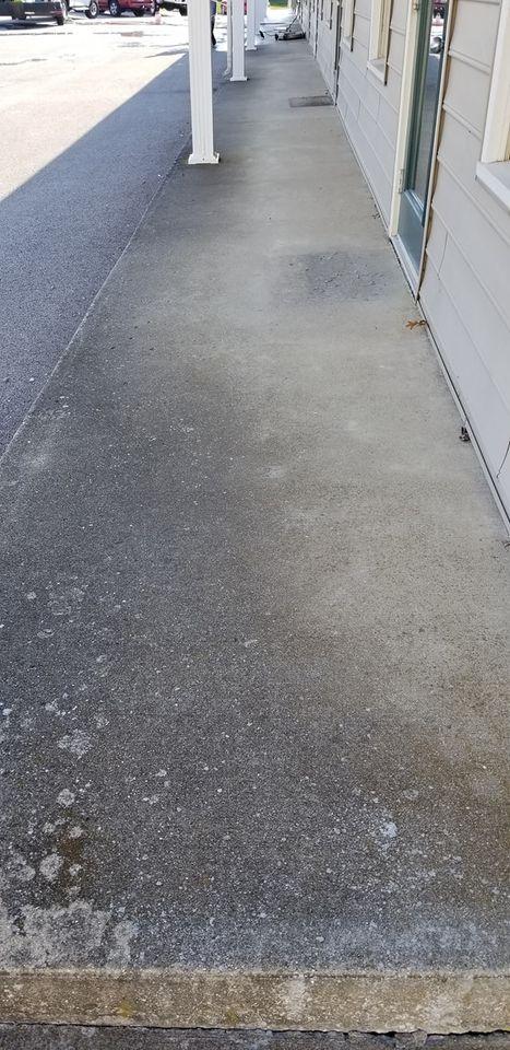 dirty sidewalk